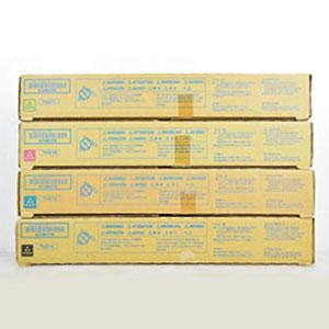 コニカミノルタ (KONICA MINOLTA) セロハンテープで封をされている事が多いですが、保管環境によっては剥がれてしまったり、粘着が弱まっている場合が御座います。